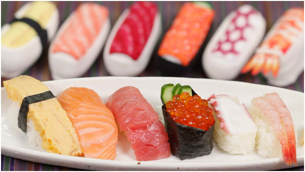 Want to try sushi?